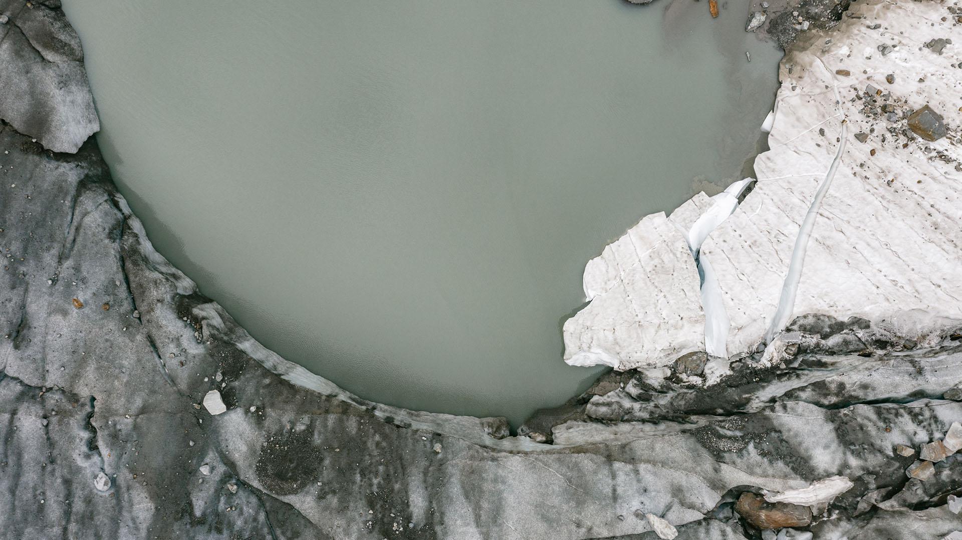 Durch das Abschmelzen des Sulzenauferner Gletschers entstand ein neuer See.